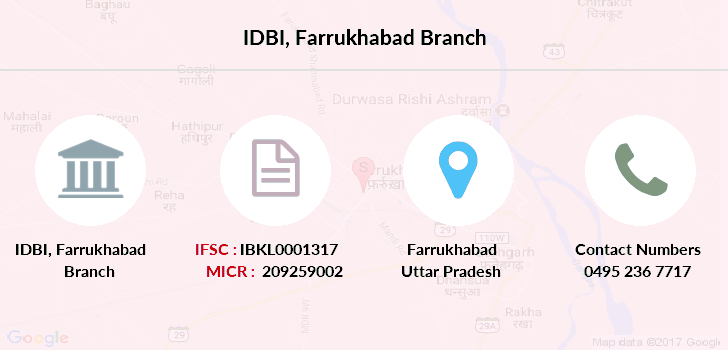Idbi-bank Farrukhabad branch