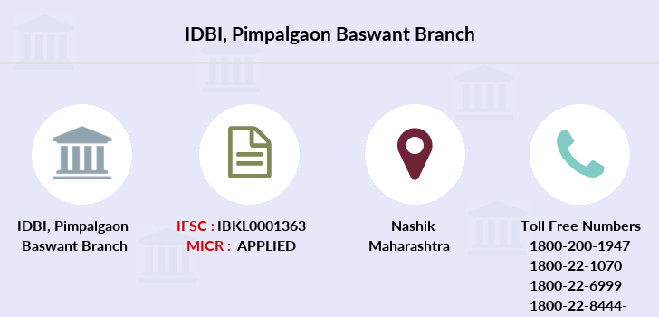 Idbi-bank Pimpalgaon-baswant branch