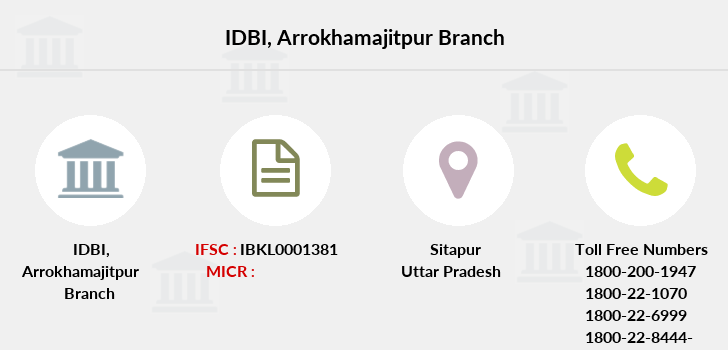 Idbi-bank Arrokhamajitpur branch