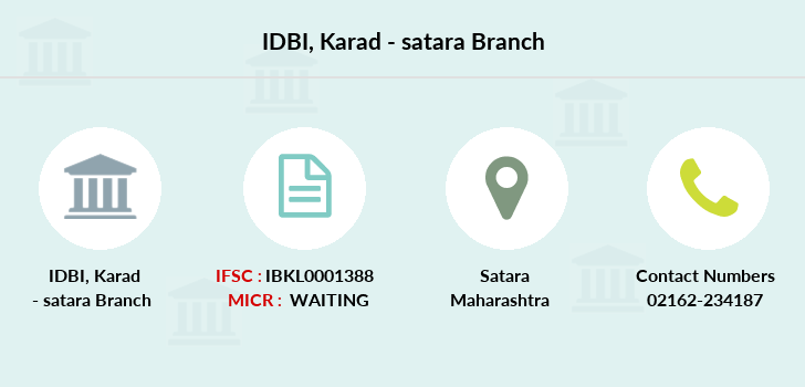 Idbi-bank Karad-satara branch