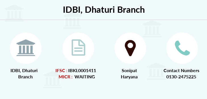 Idbi-bank Dhaturi branch