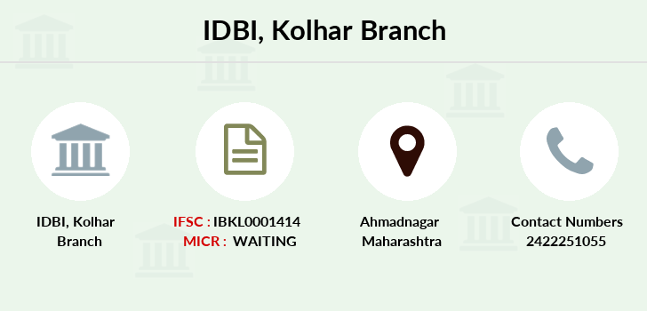 Idbi-bank Kolhar branch