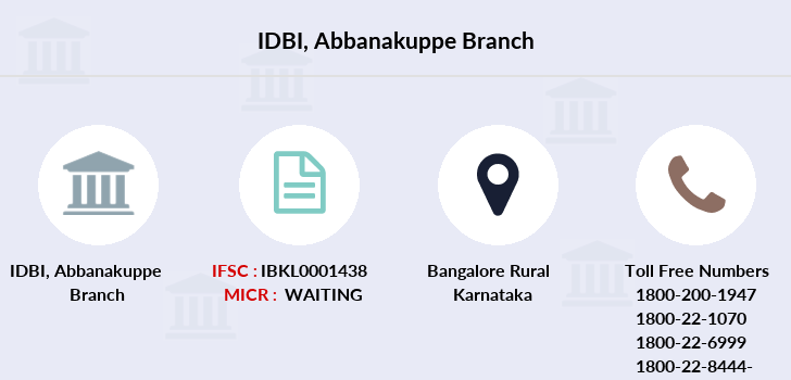 Idbi-bank Abbanakuppe branch