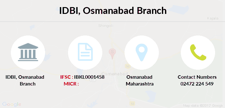 Idbi-bank Osmanabad branch