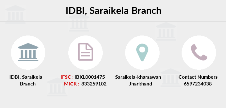 Idbi-bank Saraikela branch