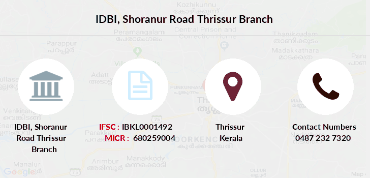 Idbi-bank Shoranur-road-thrissur branch