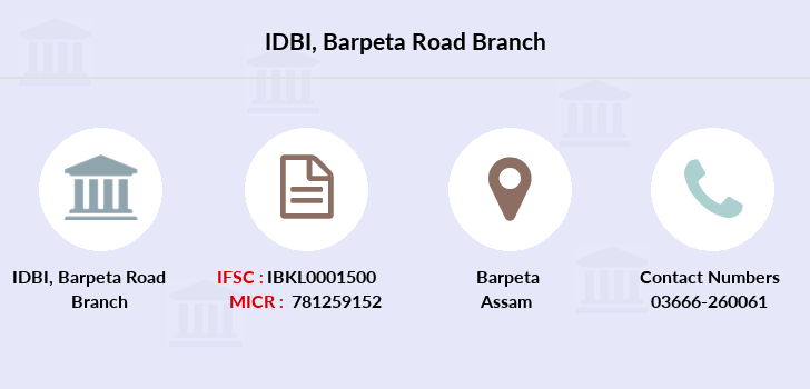 Idbi-bank Barpeta-road branch