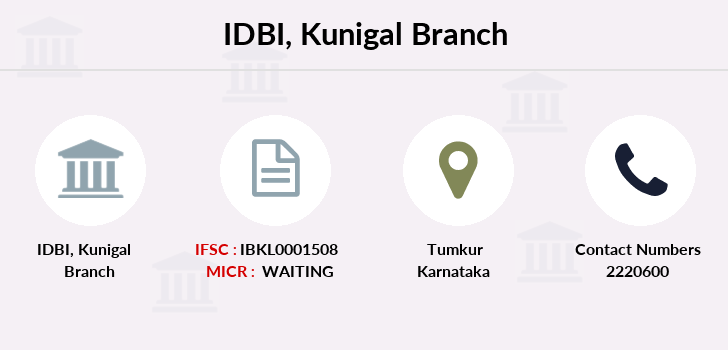 Idbi-bank Kunigal branch