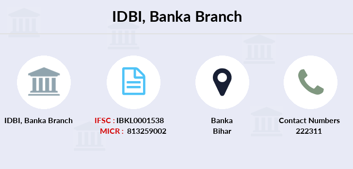 Idbi-bank Banka branch