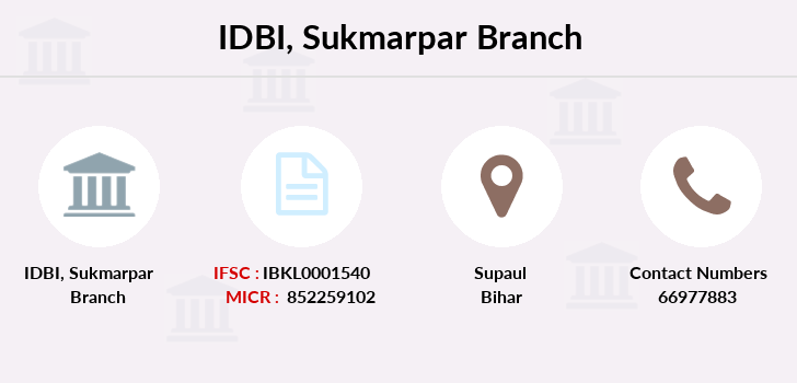 Idbi-bank Sukmarpar branch