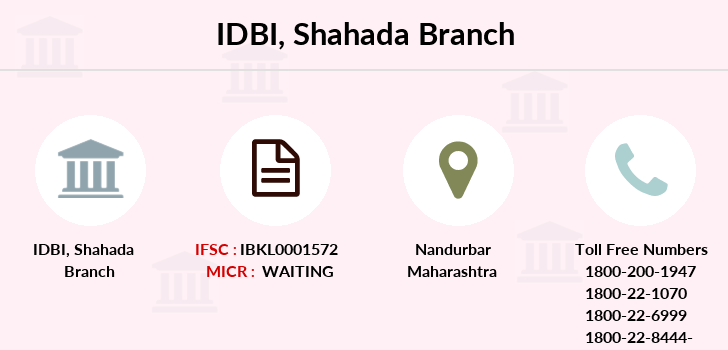 Idbi-bank Shahada branch