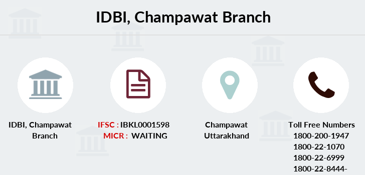 Idbi-bank Champawat branch