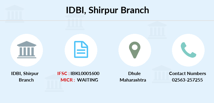 Idbi-bank Shirpur branch