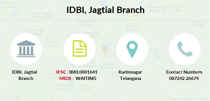Idbi-bank Jagtial branch