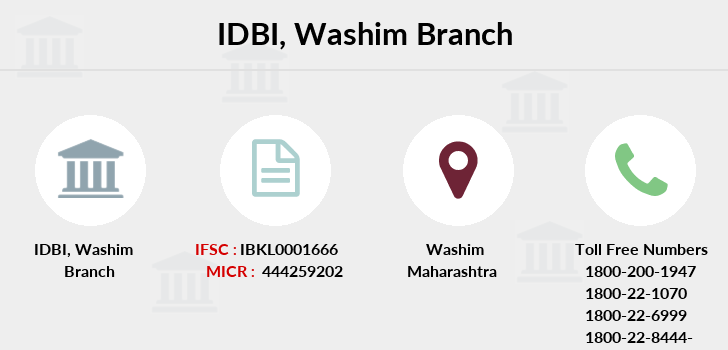 Idbi-bank Washim branch