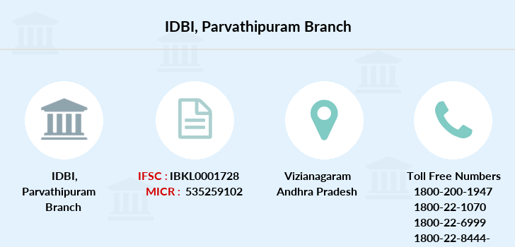 Idbi-bank Parvathipuram branch