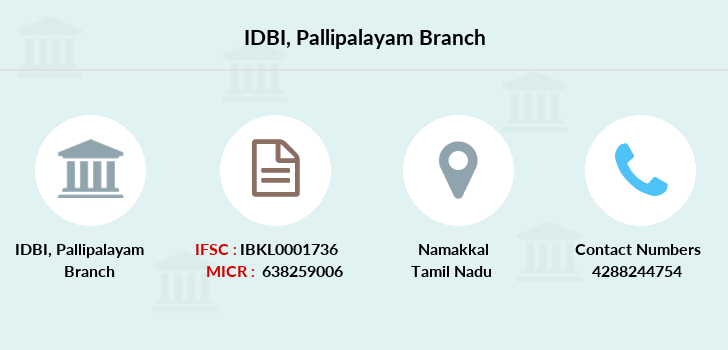 Idbi-bank Pallipalayam branch