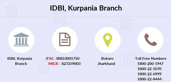 Idbi-bank Kurpania branch