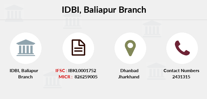 Idbi-bank Baliapur branch