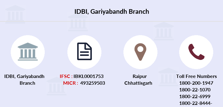 Idbi-bank Gariyabandh branch
