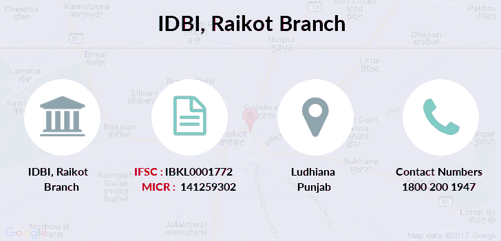 Idbi-bank Raikot branch