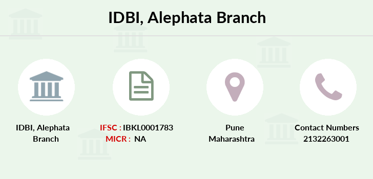 Idbi-bank Alephata branch