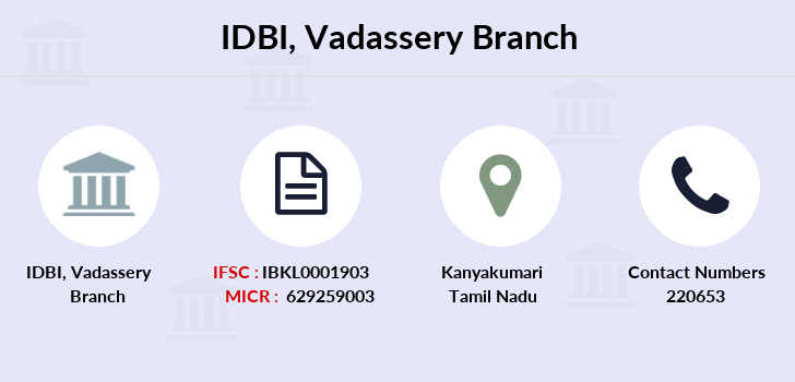 Idbi-bank Vadassery branch