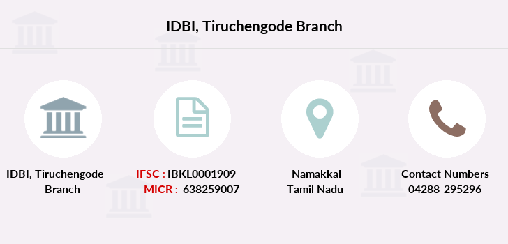 Idbi-bank Tiruchengode branch
