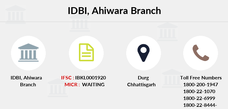 Idbi-bank Ahiwara branch