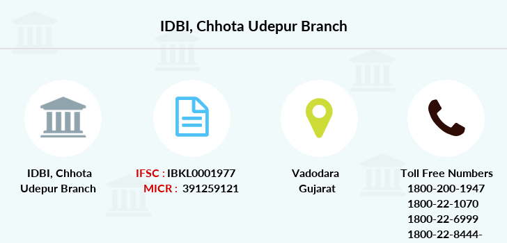 Idbi-bank Chhota-udepur branch
