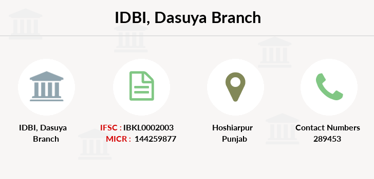 Idbi-bank Dasuya branch