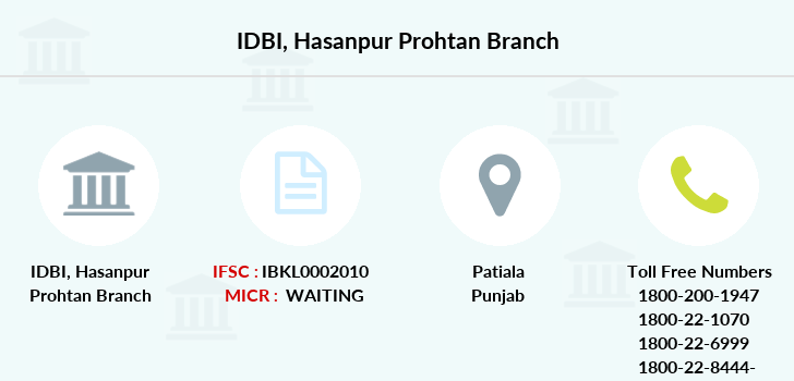 Idbi-bank Hasanpur-prohtan branch