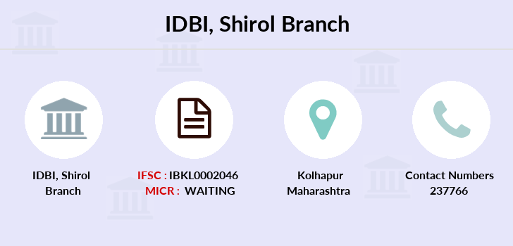 Idbi-bank Shirol branch