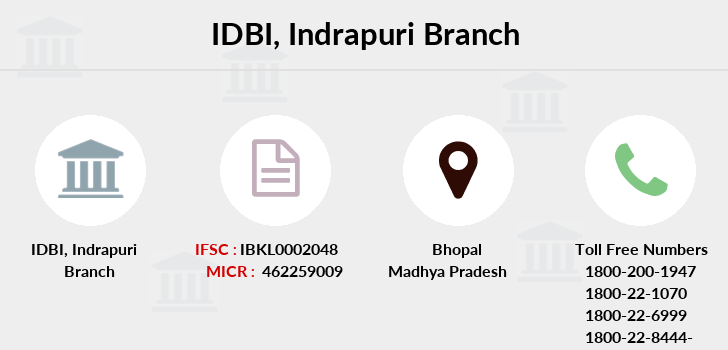 Idbi-bank Indrapuri branch