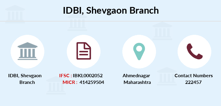 Idbi-bank Shevgaon branch