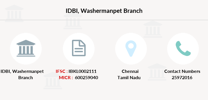 Idbi-bank Washermanpet branch