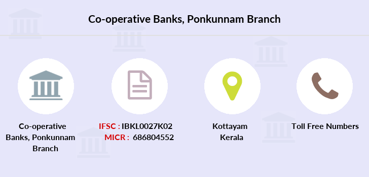 Co-operative-banks Ponkunnam branch