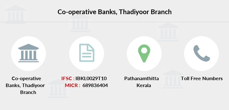 Co-operative-banks Thadiyoor branch