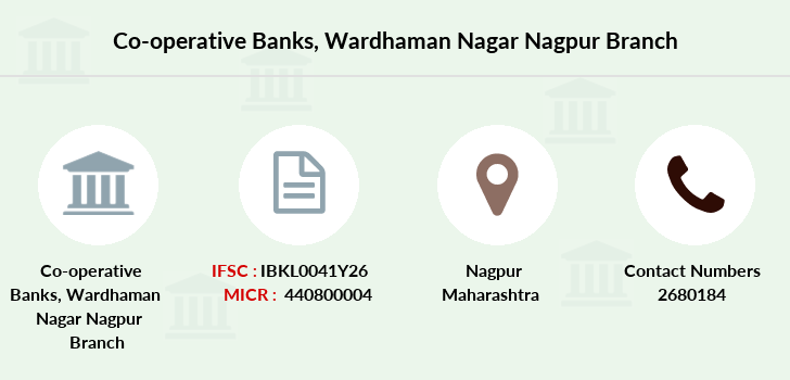 Co-operative-banks Wardhaman-nagar-nagpur branch