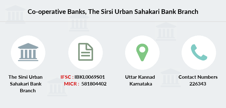 Co-operative-banks The-sirsi-urban-sahakari-bank branch