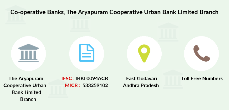 Co-operative-banks The-aryapuram-cooperative-urban-bank-limited branch