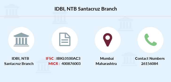 Idbi-bank Ntb-santacruz branch