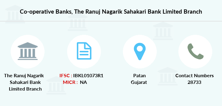 Co-operative-banks The-ranuj-nagarik-sahakari-bank-limited branch
