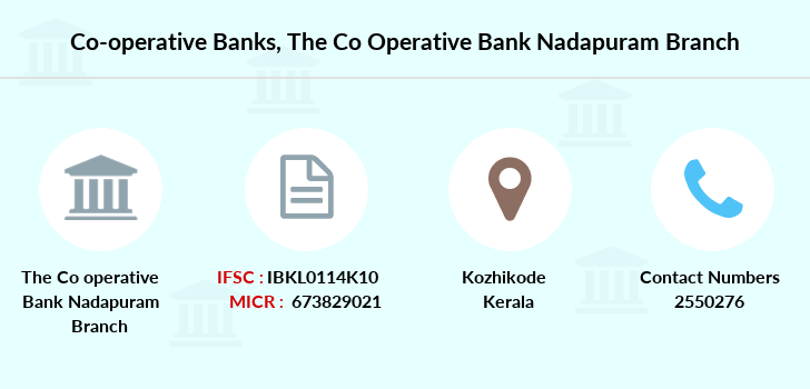 Co-operative-banks The-co-operative-bank-nadapuram branch