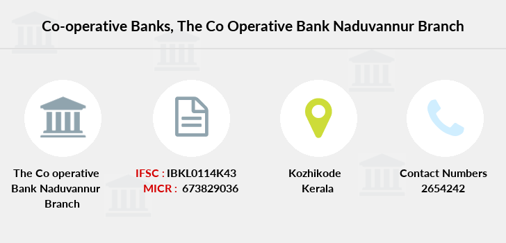 Co-operative-banks The-co-operative-bank-naduvannur branch