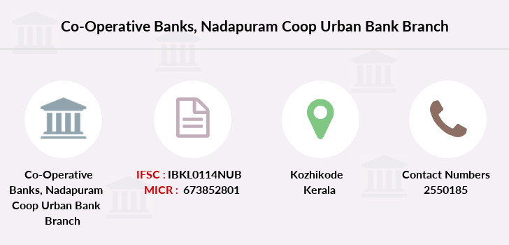 Co-operative-banks Nadapuram-coop-urban-bank branch