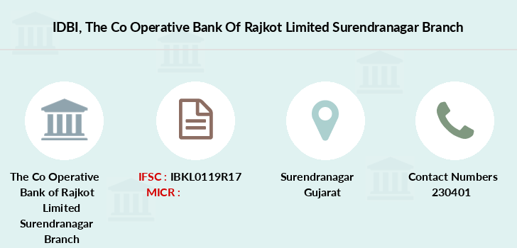 Idbi-bank The-co-operative-bank-of-rajkot-limited-surendranagar branch