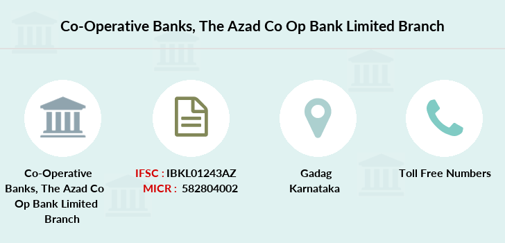 Co-operative-banks The-azad-co-op-bank-limited branch