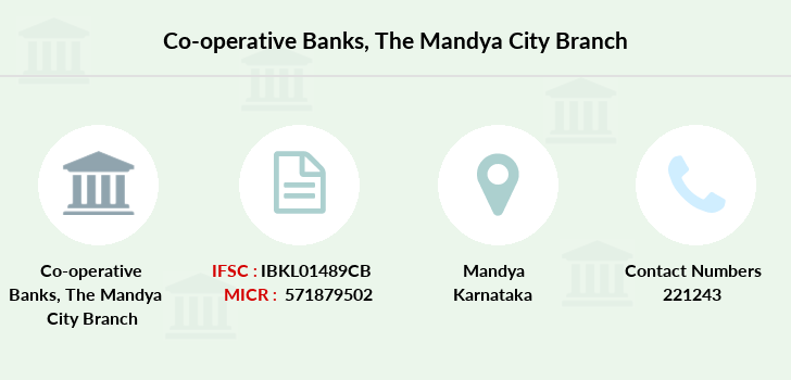 Co-operative-banks The-mandya-city branch