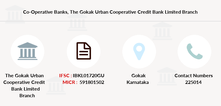 Co-operative-banks The-gokak-urban-cooperative-credit-bank-limited branch